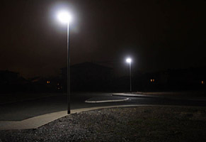 LED-Straßenbeleuchtung in Soest