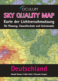 Sky Quality Map Deutschland